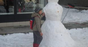Sneško i dječak