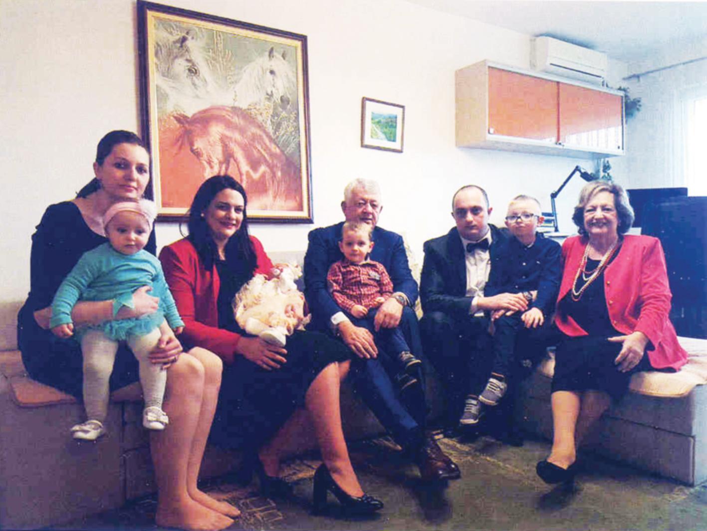 Hasan Hanić porodica