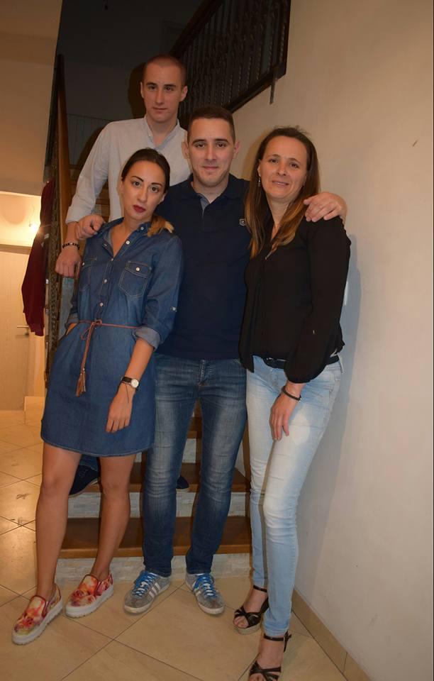 Dnilo, Andrija, Tatjana i Marija