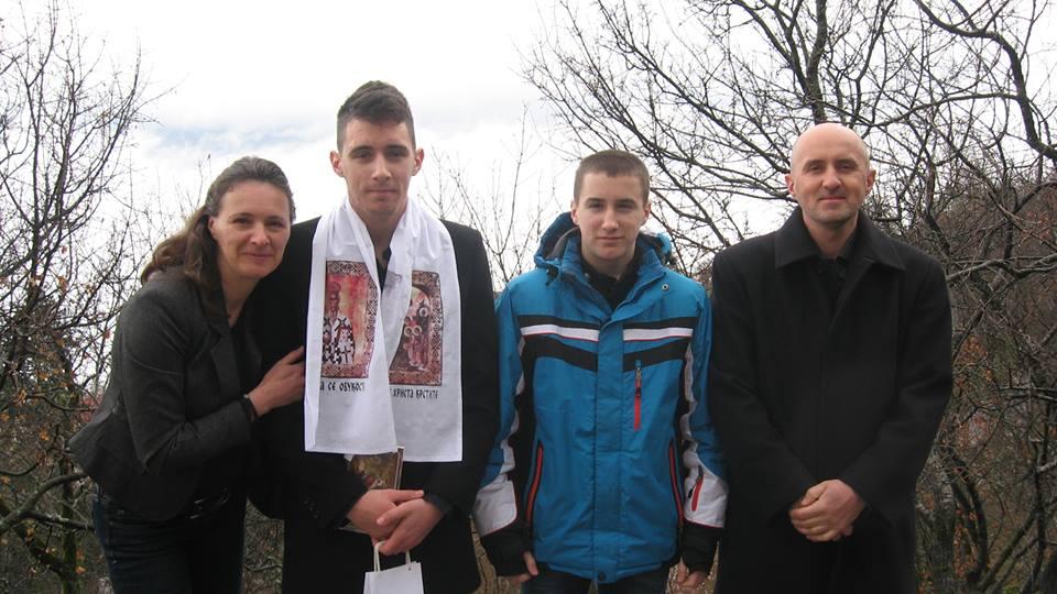 Tatjana, Andrija, Danilo i Radivoje
