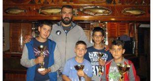 prvaci ribolovci i Nikola Peković