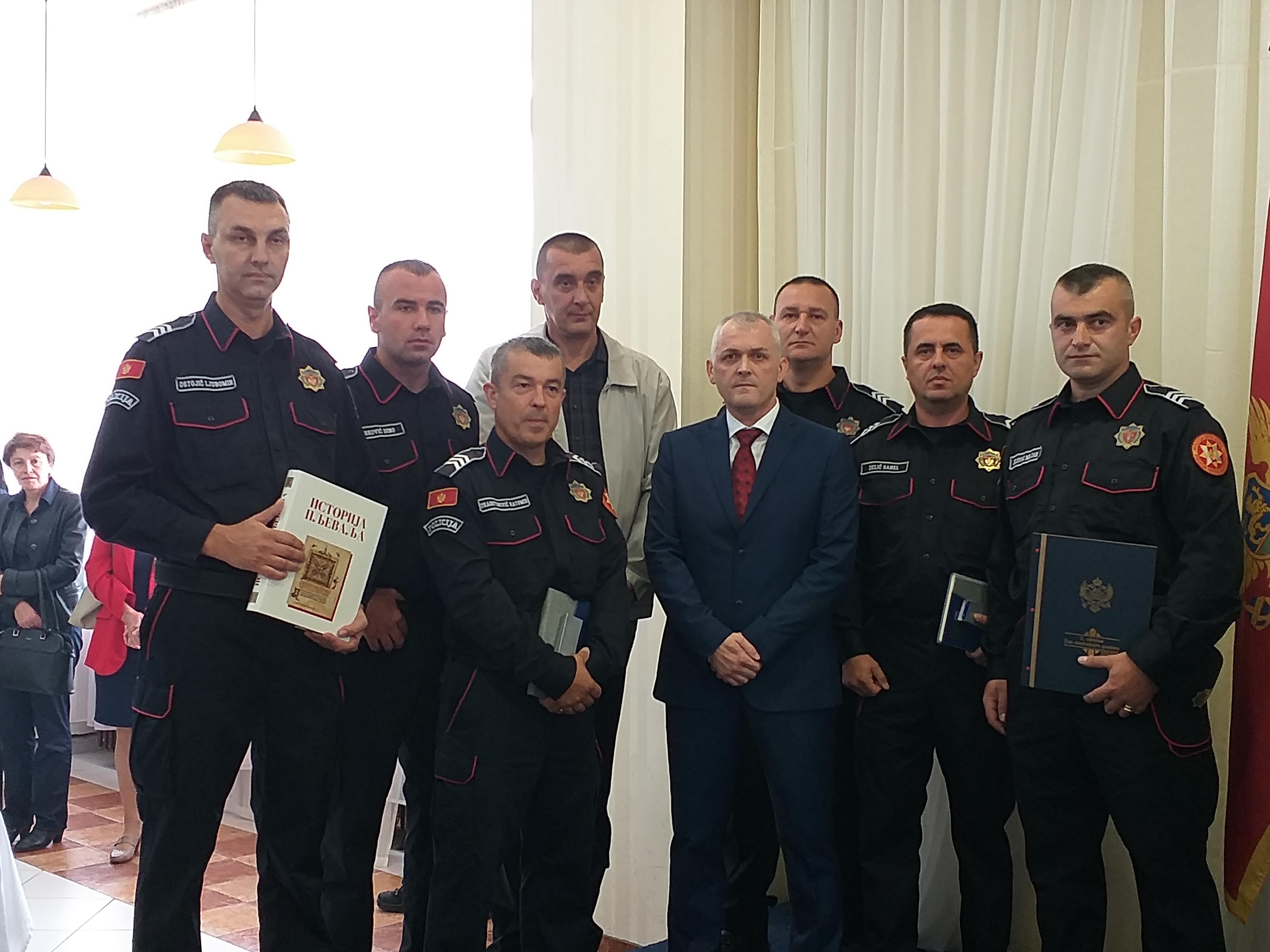 Nagrađeni policajci 2018