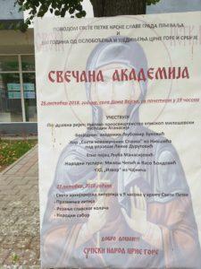 Plakat za akademiju