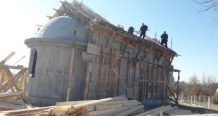 Crkva sv. Kozme i Damjana radovi
