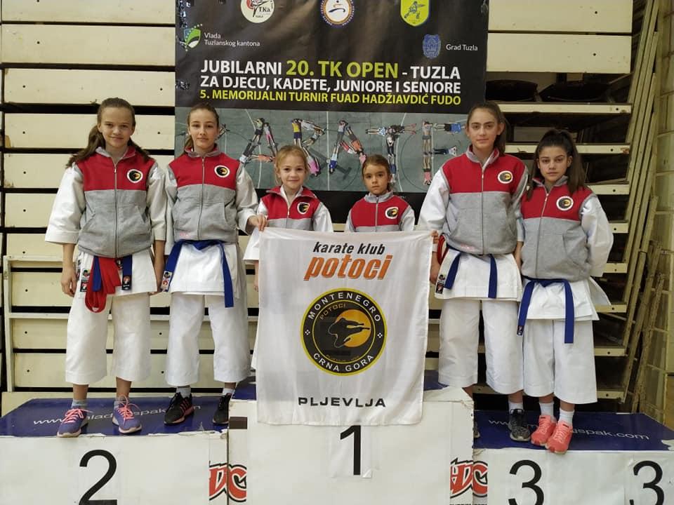 KK Potoci nagrađeni u Tuzli