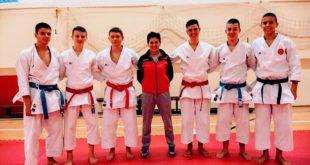 Slavka Maksimović i karate reprezentacija CG