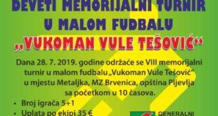 plakat Vule Tešović