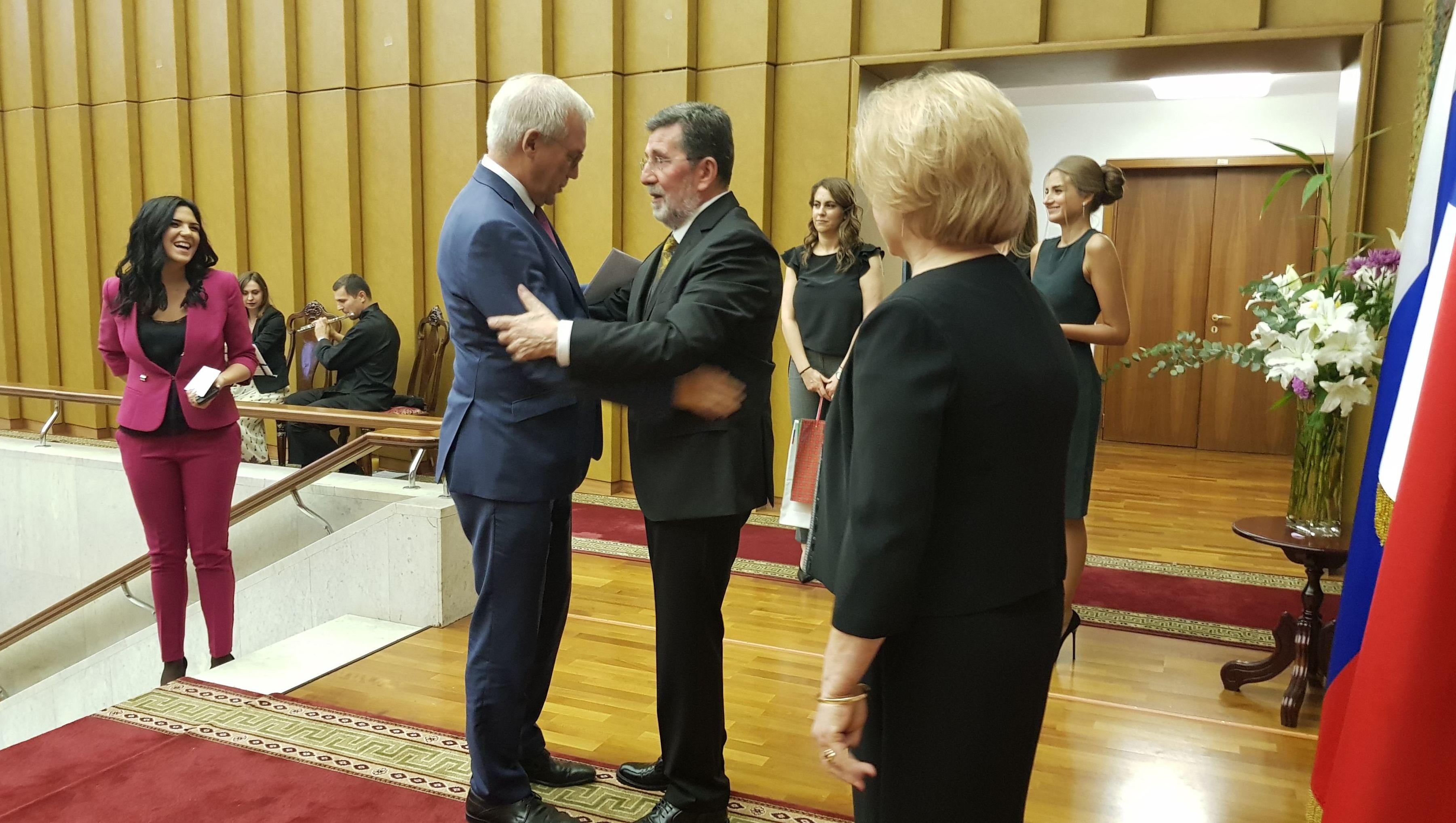dr Slavenko i Zorica Terzić