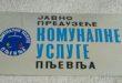 Komunalne usluge - Pljevlja