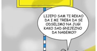 Karikatura Miljana Obrenica, facebook