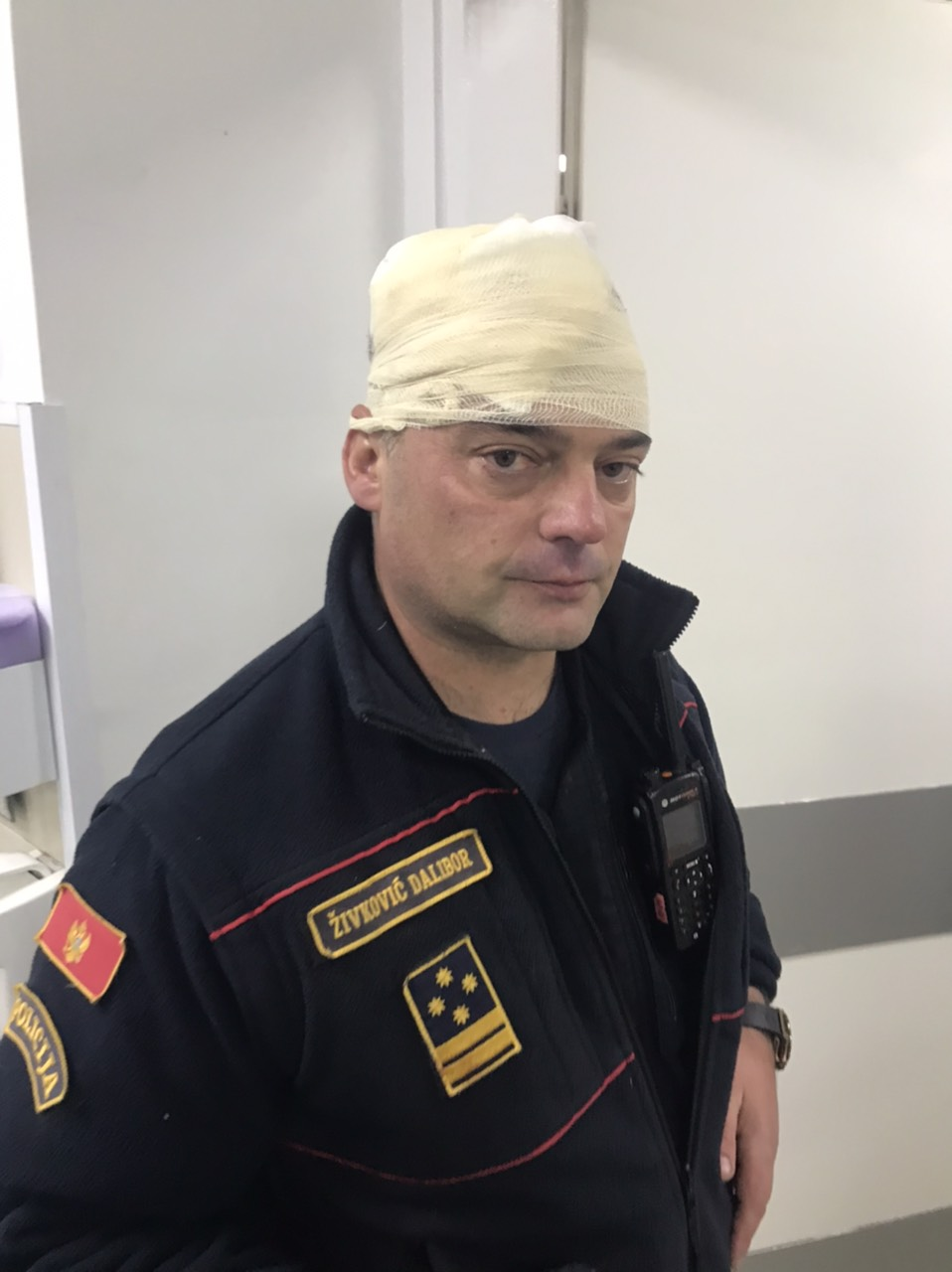 povrijeđeni policajac