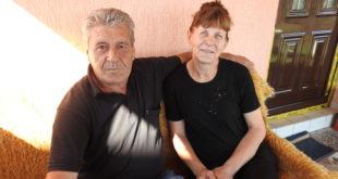 Milan Bajić i supruga Rada