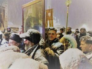 Milinko Gazdić snijeg