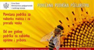 javni poziv pčelarima