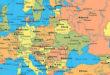 karta evrope