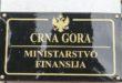 MINISTARSTVO FINANSIJA CG