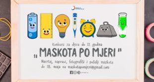 Poster za konkurs Maskota po mjeri