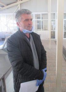 Vukadin Šljukić, predsjednik Sindikalne organizacije Unije slobodnih sindikata