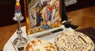 krsna slava ikona i kolač