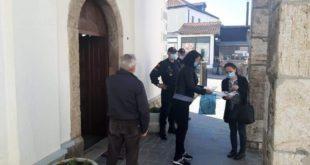 policija ispred crkve Sv Petke