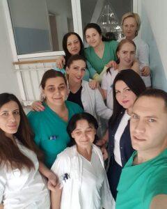 Dragana Loncović sa kolegama, foto fejsbuk