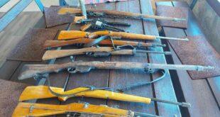 pronađeno oružje, foto UP