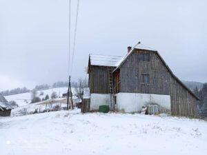 Snijeg u pljevaljskoj žitnici