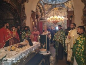 Opjelo služio vladika Atanasije sa sveštenstvom