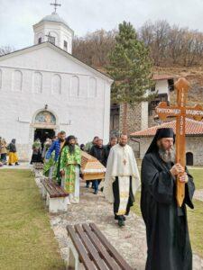 Sahrana nastojatelja Manastira Sv. TROJICE protosinđela Vladislava