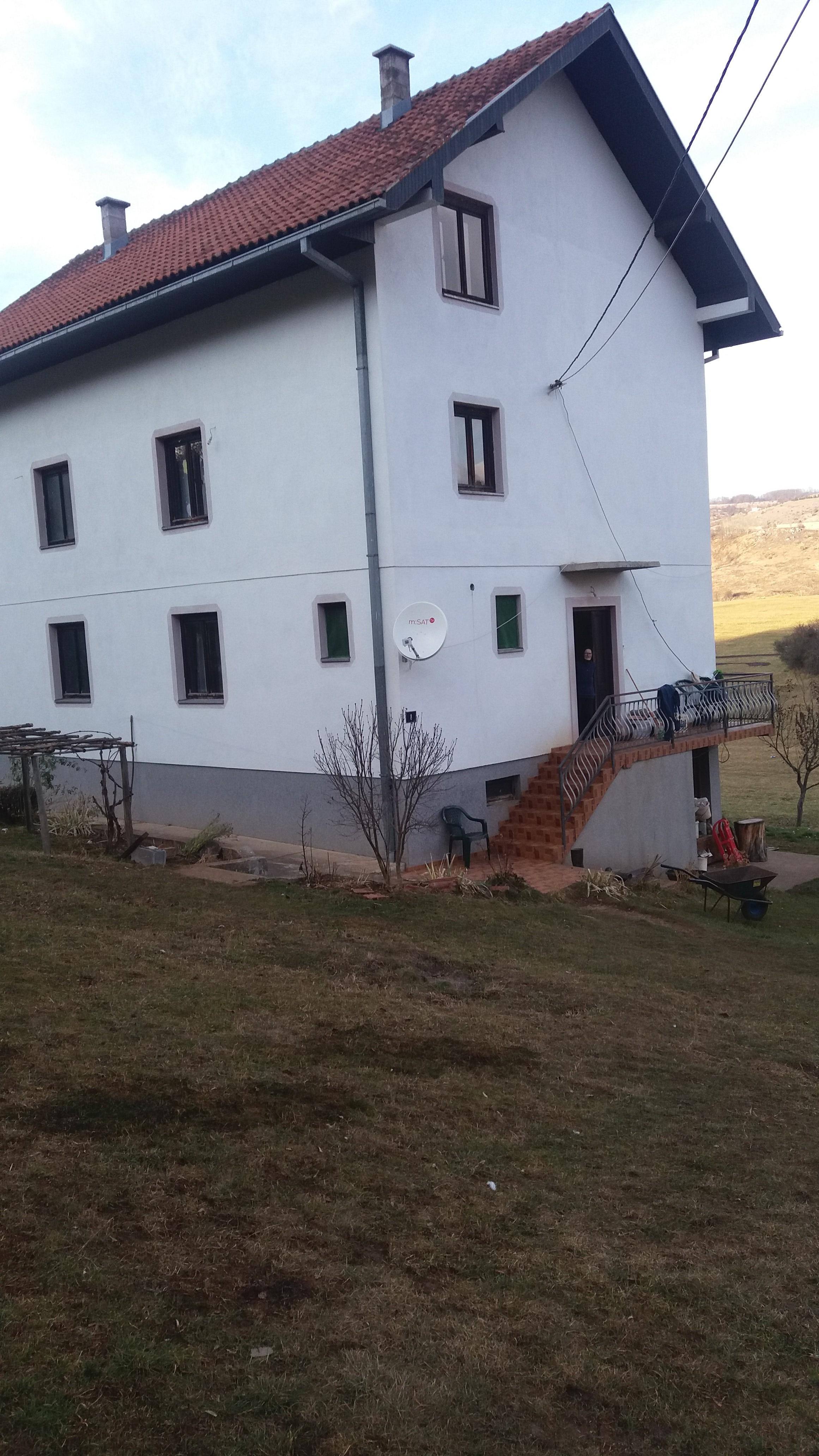 kuća Milića na srdanovom Grobu