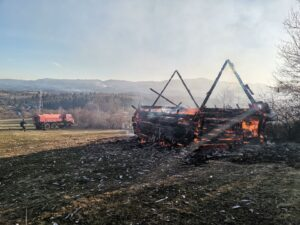 Požar u Boljanićima vatrogasci