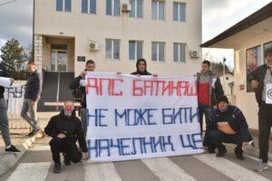 Protest ispred CB Pv, foto fejsbuk