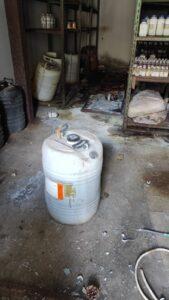 """Skladište opasanih hemikalija otvoreno i ne obezbeđeno u bivšoj fabrici """"Optel"""""""