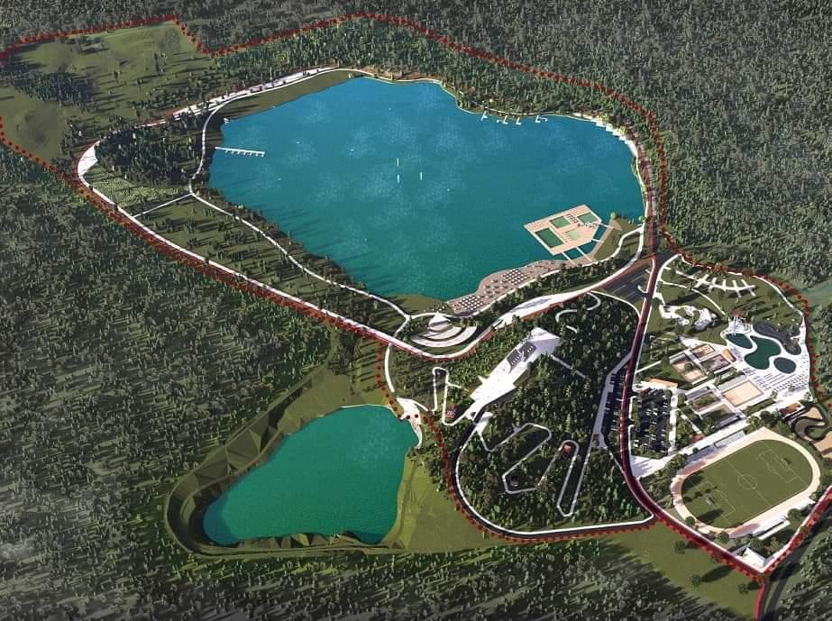 Idejno rješenje za Borovičko jezero
