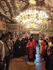 Svenoćno bdenije u Manastiru Svete Trojice