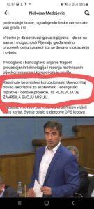 Medojević o TE PV