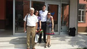 Eldira Hadžić, porodica
