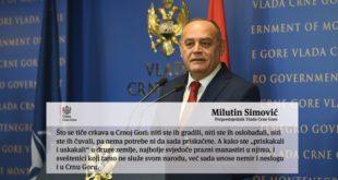 Milutin Simović tviter