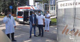 dezinfekcioni tunel u Bolnici